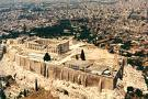 Athens Acropolis panoramic view