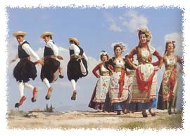 Traditional clothing in Corfu