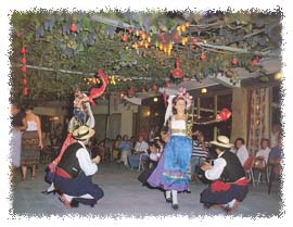 Traditional celebrations in Corfu