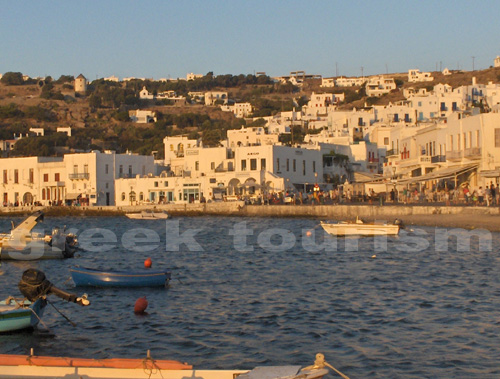 Mykonos Cyclades Greece, Hotels, Accommodation and travel information in Mykonos