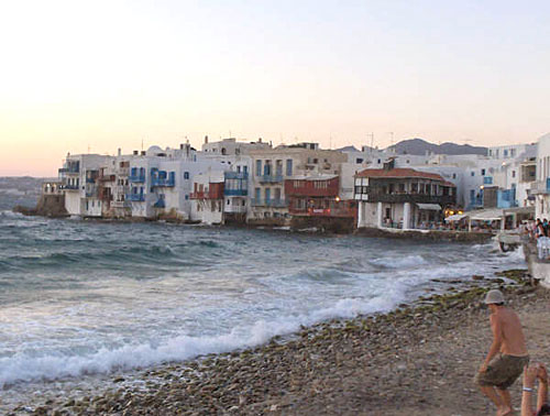 Mykonos night life and beaches