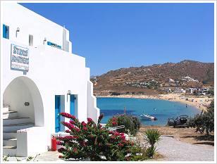 Kolona studios Naxos panoramic view