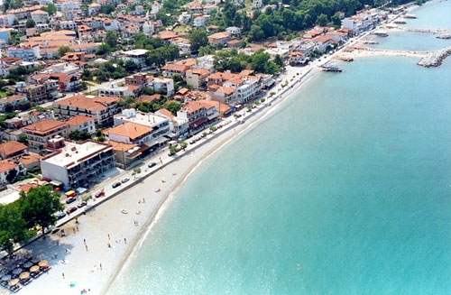 Platamonas Greece  City new picture : ... Pieria: Pieria Platamonas, beach in the perfecture of Pieria, Greece