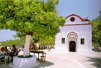 Psinthos village in rhodes