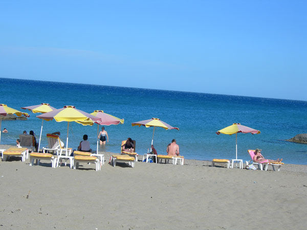 stegna beach rhodes  greece  information about hotels  accommodation  nightclubs