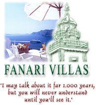 Fanari Villas in Santorini