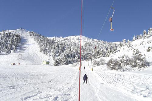 Χιονοδρομικό ΚÎντρο Μαινάλου, νομός Αρκαδίας.