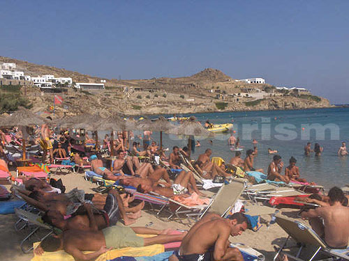 Pictures Photos Of Paradise Beach Mykonos